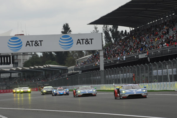 2017 World Endurance Championship, Mexico City, Mexico. 1st-3rd September 2017, #67 Ford Chip Ganassi Team UK  Ford GT: Andy Priaulx, Harry Tincknell,  World copyright. JEP/LAT Images