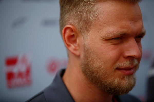 Spa Francorchamps, Belgium.  Thursday 24 August 2017. Kevin Magnussen, Haas F1.  World Copyright: Andy Hone/LAT Images  ref: Digital Image _ONY3132
