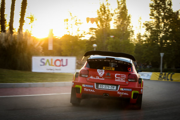 2017 FIA World Rally Championship, Round 11, Rally RACC Catalunya / Rally de España, 5-8 October, 2017, Stephane Lefebvre, Citroen, action, Worldwide Copyright: LAT/McKlein
