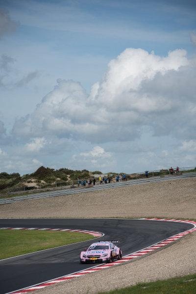 2017 DTM Round 6  Circuit Zandvoort, Zandvoort, Netherlands Friday 18 August 2017. Lucas Auer, Mercedes-AMG Team HWA, Mercedes-AMG C63 DTM World Copyright: Mario Bartkowiak/LAT Images ref: Digital Image 2017-08-18_DTM_Zandvoort_FP1_0074