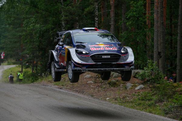 2017 FIA World Rally Championship, Round 09, Rally Finland / July 27 - 30, 2017, Sebastien Ogier, Ford WRC, Action  Worldwide Copyright: McKlein/LAT