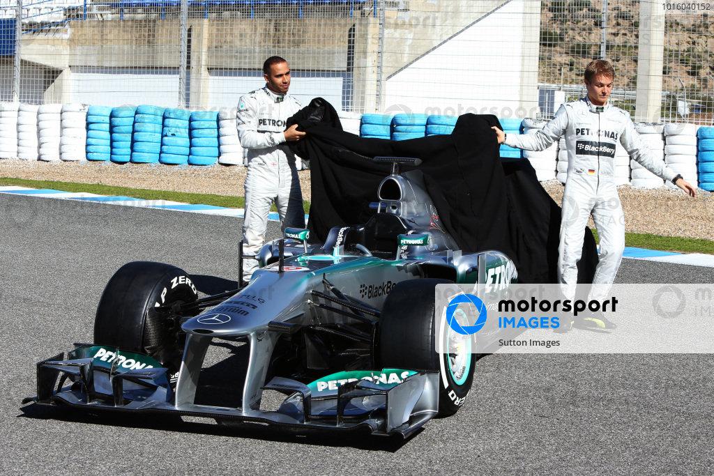 Mercedes AMG F1 W04 Launch
