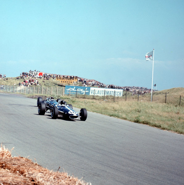 Zandvoort, Holland.22-24 July 1966.Dan Gurney (Eagle T1G Climax).Ref-3/2285.World Copyright - LAT Photographic