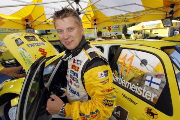 2008 FIA World Rally ChampionshipRound 07Acropolis Rally  200829/5-1/6  2008Toni Gardemeister, Suzuki WRC, Portrait