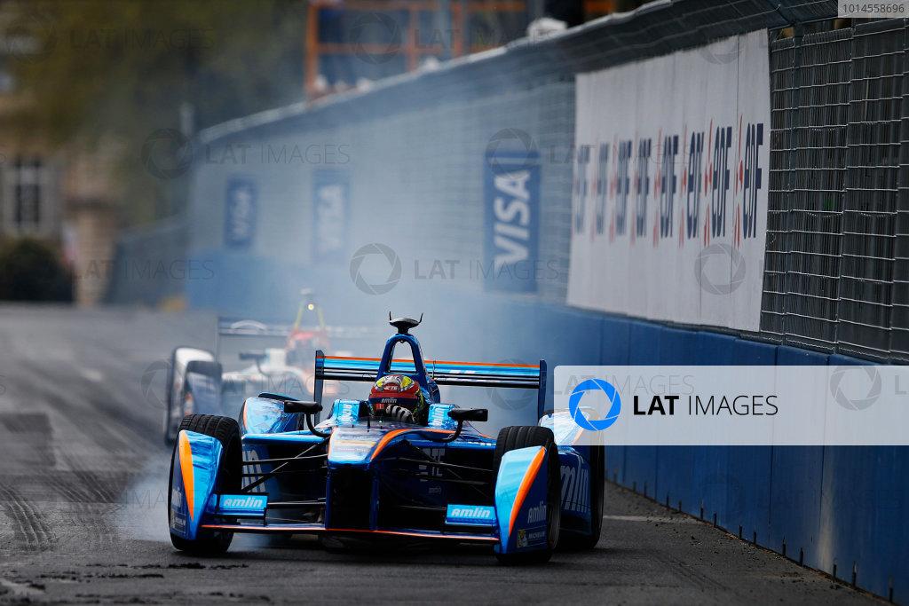 2015/2016 FIA Formula E Championship. Paris ePrix, Paris, France. Saturday 23 April 2016. Robin Frijns (NLD), Andretti - Spark SRT_01E. Photo: Glenn Dunbar/LAT/Formula E ref: Digital Image _W2Q2164
