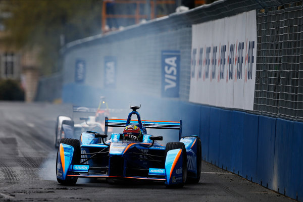 2015/2016 FIA Formula E Championship. Paris ePrix, Paris, France. Saturday 23 April 2016. Robin Frijns (NLD), Andretti - Spark SRT_01E. Photo: Glenn Dunbar/LAT/Formula E ref: Digital Image _W2Q2164