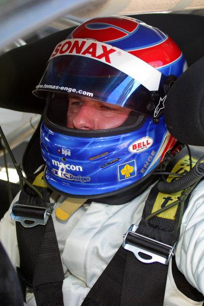 January 31-Feb. 3, 2005, SEBRING INTERNATIONAL RACEWAY TOMAS ENGE IN THE NO 57 ASTON MARTIN DBR9.-2005, GREG ALECK