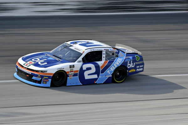 #2: Tyler Reddick, Richard Childress Racing, Chevrolet Camaro myblu