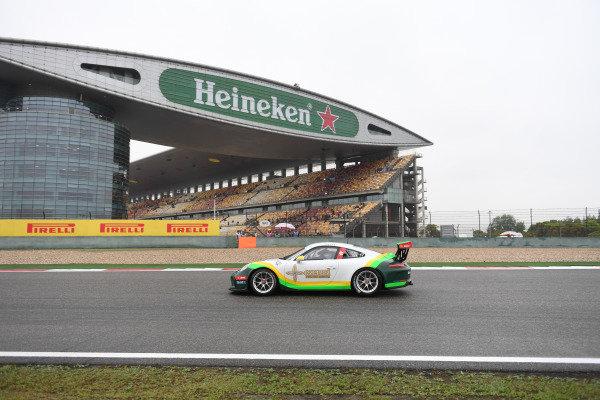 Yui Sum Fung (HKG) Arrows Racing at Porsche Carrera Cup Asia, Shanghai, China, 13-15 April 2018.