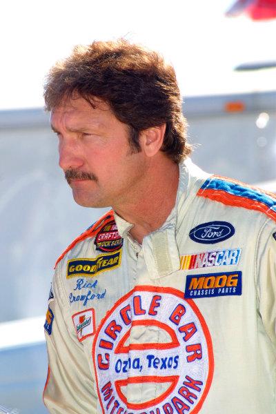 2003 NASCAR Craftsman Truck TestingDaytona, Florida, USA. 12th January 2003.Rick Crawford (Ford Circle Bar Racing), portrait.World Copyright: Greg Aleck/LAT Photographicref: Digital Image Only
