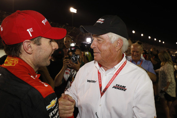 Will Power, Team Penske Chevrolet with team owner Roger Penske