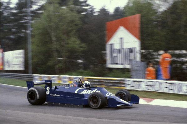 Didier Pironi, Tyrrell 009 Ford.