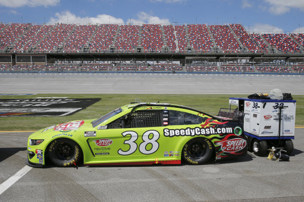 #38: Anthony Alfredo, Front Row Motorsports, Ford Mustang Speedy Cash