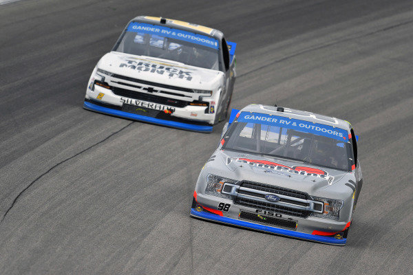 #98: Grant Enfinger, ThorSport Racing, Ford F-150 Farm Paint/Curb Records
