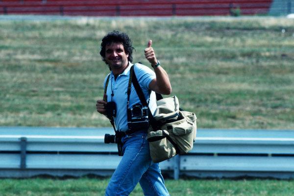 Jimmy Froidevaux (SUI) Photographer Formula One World Championship, Hockenheim, Germany, 25 July 1993