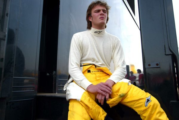 Giedo van der Garde (NED) Signature Plus. Euroseries F3 Championship, Rd1, Hockenheimring, Germany, 16-18 April 2004. DIGITAL IMAGE