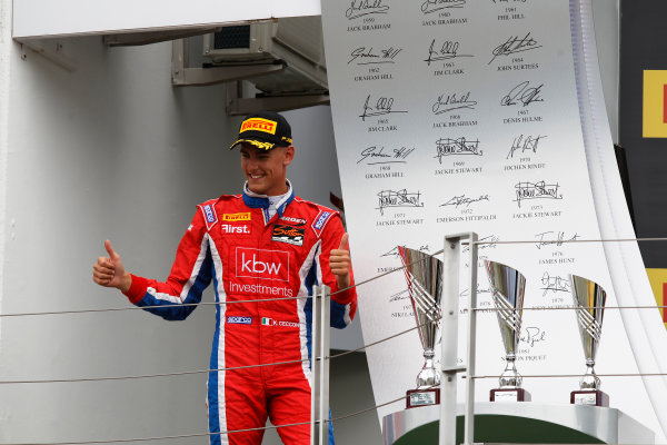 2015 GP3 Series Round 4.  Hungaroring, Budapest, Hungary. Sunday 26 July 2015.Kevin Ceccon (ITA, Arden International)  World Copyright: Sam Bloxham/LAT Photographic. ref: Digital Image _G7C3455