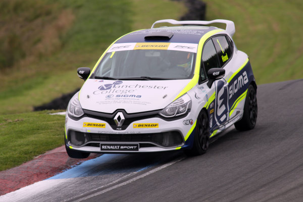2015 Renault Clio Cup, Knockhil, Scotland 22nd-23rd August 2015, Ash Hand (GBR) Team Pyro Renault Clio Cup  World copyright. Ebrey/LAT Photographic