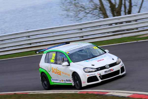 2015 Volkswagen Racing Cup, Oulton Park, Cheshire. 4th - 6th April 2015. Howard Fuller (GBR) Team HARD Golf GTI. World Copyright: Ebrey / LAT Photographic.