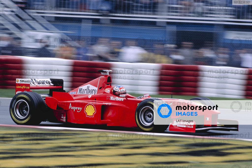 Montreal, Quebec, Canada. 5-7 June 1998.Michael Schumacher (Ferrari F300) 1st position.Ref-98 CAN 69.World Copyright - Charles Coates/LAT Photographic