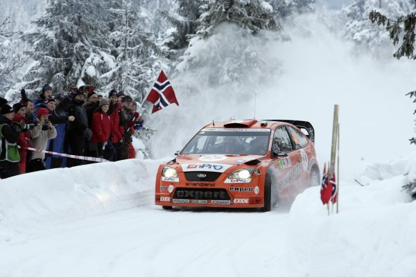 2007 FIA World Rally ChampionshipRound 3Rally of Norway 200715th - 18th February 2007Henning Solberg, Ford, Action.Worldwide Copyright: McKlein/LAT