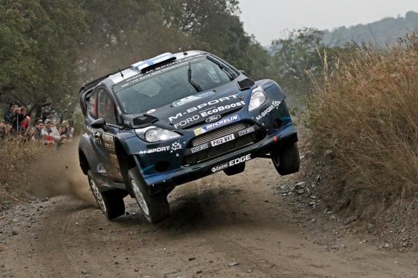 Mikko Hirvonen (FIN) / Jarmo Lehtinen (FIN), Ford Fiesta RS WRC. FIA World Rally Championship, Rd5, Rally Argentina, Day Two, Cordoba-Villa Carlos Paz, Argentina, 10 May 2014.