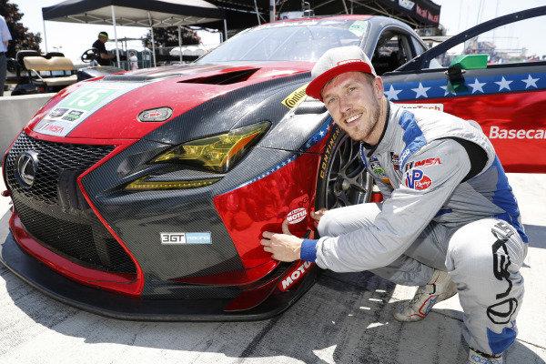 GTD Motul Pole Award winner #15 3GT Racing Lexus RCF GT3, GTD: Jack Hawksworth,