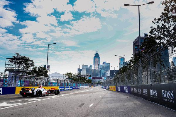 2017/2018 FIA Formula E Championship. Round 1 - Hong Kong, China. Saturday 02 December 2017. Maro Engel (GER), Venturi Formula E, Venturi VM200-FE-03. Photo: Sam Bloxham/LAT/Formula E ref: Digital Image _J6I4290