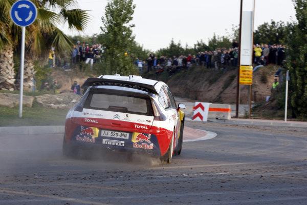 Round 12Rally Spain 21-24 October 2010Sebastien Loeb, Citroen WRC, ActionWorldwide Copyright: McKlein/LAT