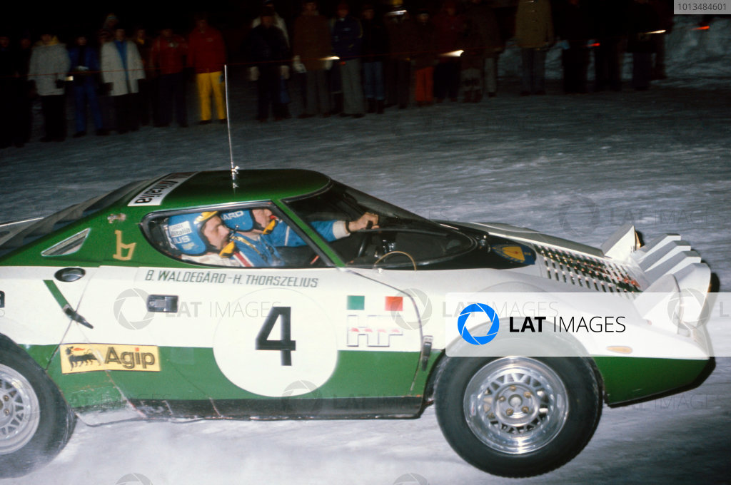 Swedish Rally, Sweden. 13th - 15th February 1975.