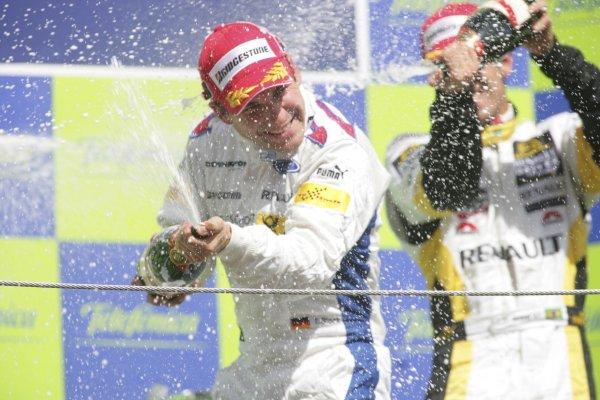 2007 GP2 Series. Round 2. Sunday RaceBarcelona, Spain. 13th May 2007. Timo Glock (GER, iSport International)World Copyright: Andrew Ferraro/GP2 Series Media Sevice  ref: Digital Image ZP9O7193