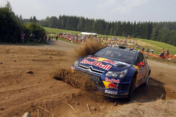 Round 08Rally Finland 29-31 July 2010Kimi Raikkonen, Citroen WRC, ActionWorldwide Copyright: McKlein/LAT