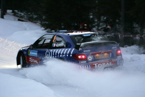 2006 FIA World Rally Champs. Round two Swedish Rally.2nd-5th February 2006.Sebastien Loeb, Citroen, action.World Copyright: McKlein/LAT