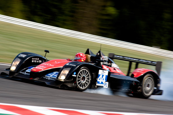 Spa Francorchamps, Spa, Belgium.5th - 7th May 2011LMP2. Fabien Rosier (FRA), Jean-Marc Luco (CHE), Maurice Basso (CHE). LMS. Extreme Limite AM Paris. Norma M200P- Judd. World Copyright: Malcolm Griffiths/LAT Photographicref: Digital Image _H0Y6131