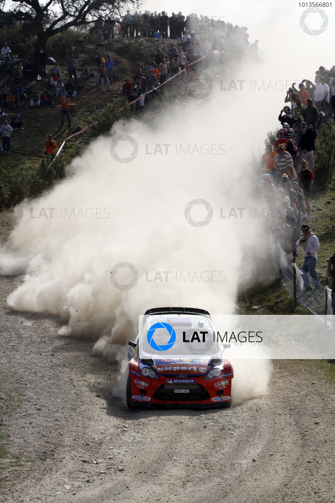 Round 03-Rally Portugal. 23th-27th March 2011, Henning Solberg, Ford WRC, Action.Worldwide Copyright: McKlein/LAT