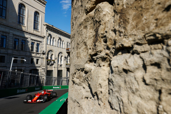 Sebastian Vettel, Ferrari SF70H.