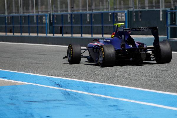 2014 GP3 Series Test 2. Jerez, Spain  Friday 11 April 2014. Emil Bernstorff (GBR, Carlin)  Photo: Sam Bloxham/GP3 Series Media Service. ref: Digital Image _G7C1766