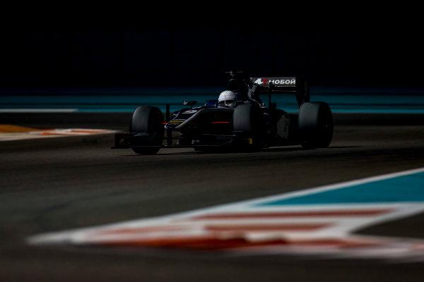 2016 GP2 Series Test 3 Yas Marina Circuit, Abu Dhabi, United Arab Emirates. Friday 2 December 2016. Chris Hoher (AUT, RUSSIAN TIME)  Photo: Zak Mauger/GP2 Series Media Service. ref: Digital Image _L0U4823