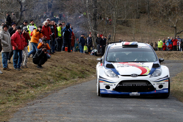 Round 01-Rally Monte Carlo 17-22 January 2012. Francois Delecour, Ford WRC, ActionWorldwide Copyright: McKlein/LAT