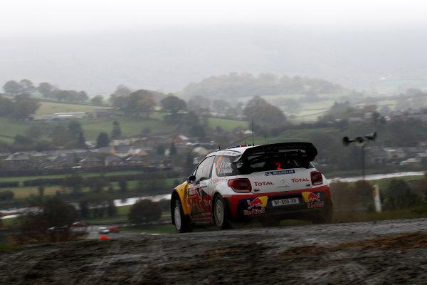 Round 13 - Wales Rally GB. 10th-13th November 2011. Sebastien Ogier, Citroen, ActionWorldwide Copyright: McKlein/LAT