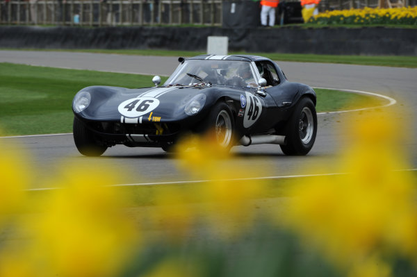 2017 75th Members Meeting Goodwood Estate, West Sussex,England 18th - 19th March 2017 Graham Hill Trophy Shaun Rainford Cheetah World Copyright : Jeff Bloxham/LAT Images Ref : Digital Image