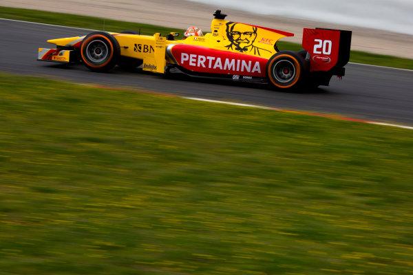 Circuit de Barcelona Catalunya, Barcelona, Spain. Monday 13 March 2017. Norman Nato (FRA, Pertamina Arden). Action.  Photo: Alastair Staley/FIA Formula 2 ref: Digital Image 580A9525