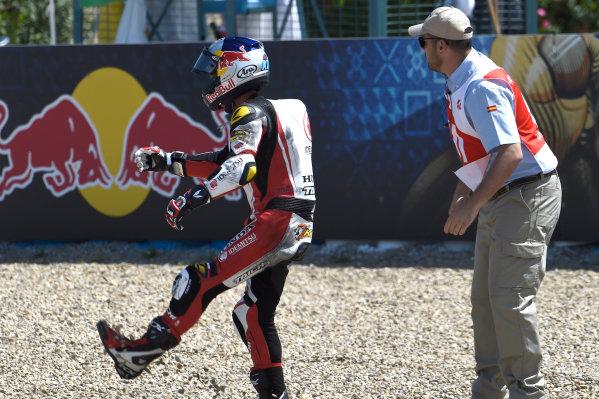2017 Moto2 Championship - Round 4 Jerez, Spain Sunday 7 May 2017 Khairul Idham Pawi, Idemitsu Honda Team Asia World Copyright: Gold & Goose Photography/LAT Images ref: Digital Image 16370