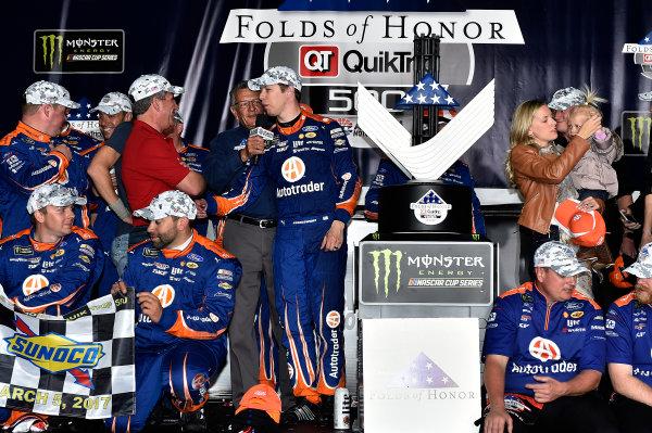2017 Monster Energy NASCAR Cup Series - Fold of Honor QuikTrip 500 Atlanta Motor Speedway, Hampton, GA USA Sunday 5 March 2017 Brad Keselowski World Copyright: Rusty Jarrett/LAT Images ref: Digital Image 17ATL1rj_2856