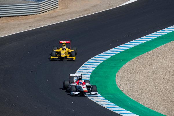 2017 FIA Formula 2 Round 10. Circuito de Jerez, Jerez, Spain. Sunday 8 October 2017. Ralph Boschung (SUI, Campos Racing).  Photo: Zak Mauger/FIA Formula 2. ref: Digital Image _56I7620