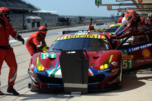 2017 FIA World Endurance Championship, COTA, Austin, Texas, USA. 14th-16th September 2017, #51 AF Corse Ferrari 488 GTE: James Calado, Alessandro Pier Guidi,   World Copyright. May/JEP/LAT Images