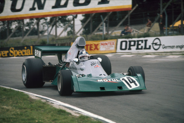 Brands Hatch, England. 18-20 July 1974. Jean-Pierre Beltoise, BRM P201, 12th position. Action. Ref: 74GB06. World Copyright - LAT Photographic
