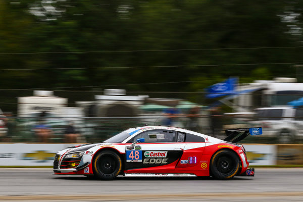 1-3 October, 2015, Braselton, Georgia USA 48, Audi, R8 LMS, GTD, Christopher Haase, Dion von Moltke, Bryce Miller ?2015, Jake Galstad LAT Photo USA