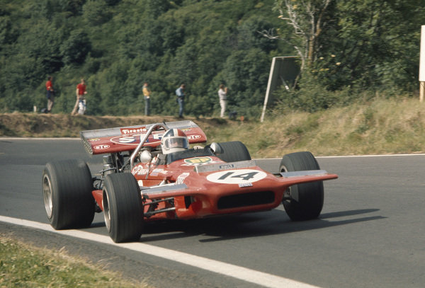 1970 French Grand Prix.Clermont-Ferrand, France.3-5 July 1970.Chris Amon (March 701 Ford) 2nd position.Ref-70 FRA 88.World Copyright - LAT Photographic