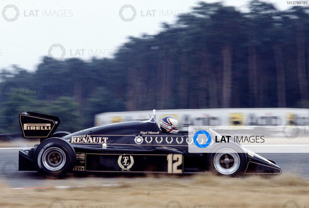 1983 German Grand Prix.